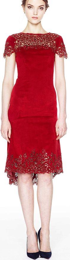 Marchesa 2014 - red dress