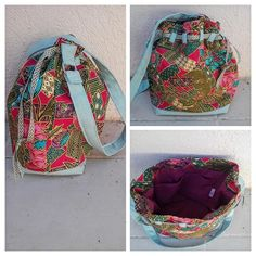 Sacs&Pacotilles sur Instagram: Retour sur mes débuts 😂 . Un sac seau Calypso de chez @patrons_sacotin en batik ramené d'Indonésie 💝 . Oui j'aime les couleurs ! Pas vous…