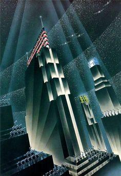 Deco futurism More