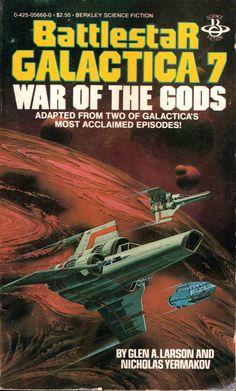 Battlestar Galactica War of the Gods Berkley boo Sci Fi Books, Comic Books, Kampfstern Galactica, Hard Science Fiction, Battlestar Galactica 1978, Female Character Inspiration, Classic Tv, Fantasy Books, Book Series