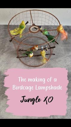 Every lampshade is handmade and unique. Order today, dispatched in 2 weeks, delivered worldwide. Birdcage Light, Birdcage Lamp, Birdcage Decor, Handmade Lampshades, Diy Lampshade, Bedroom Lampshade, Lampshade Designs, Diy Light Fixtures, Creation Deco