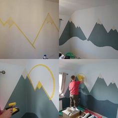 Play house – Mara E. Baby Bedroom, Baby Boy Rooms, Baby Room Decor, Nursery Room, Kids Bedroom, Childrens Bedroom, Kids Room Murals, Baby Room Design, Play Houses