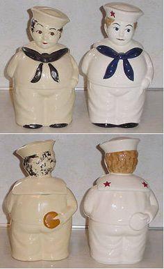 Shawnee Sailor Cookie Jars