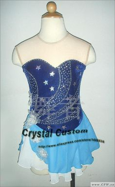 Aliexpress.com : Buy Custom Girls Figure Skating Dress New Brand  Vogue Figure Skating Competition Dress Kids DR3252 from Reliable dresses for large bust suppliers on Crystal Professional Custom Figure Skating Dresses Store