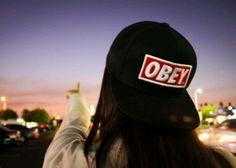 Obey Snapback - Girls with Snapbacks #snapbacks