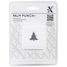 Look what I found on #blitsy! Large Palm Punch-Christmas Tree #blitsybuys