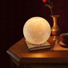 Moon Lamp Store is a certified supplier of the original moon night light lamp. Buy printed moon night lamp and get off on your first order. Café Bar, Overhead Lighting, Usb, Luz Led, Night Lamps, Led Night Light, Decor Interior Design, Lamp Light, Moonlight