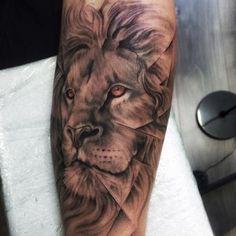 lion Tiger Tattoo, Lion Tattoo, Wrist Tattoos, Traditional Tattoos, Piercing, Tatting, Body Art, Tattoos, Tribal Tattoos