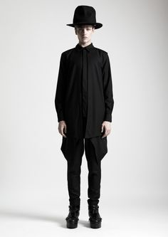 singapore label depression aw14 dark nature MENSWEAR