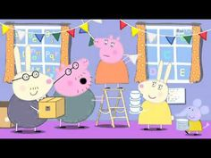 Peppa Pig S04e26 (Festa d'addio) - YouTube
