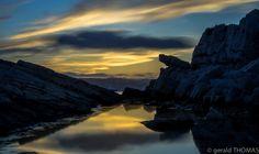 coucher de soleil au cap d'Antibes