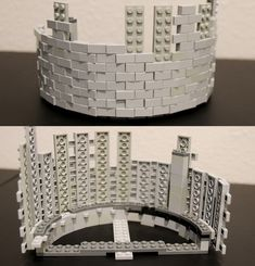 https://flic.kr/p/225yAC8 | curved wall | Technique I'm playing with in a WIP build.   Its pretty strong and as far as tile walls go relatively parts efficient.