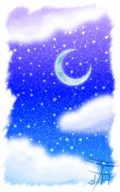 a_glittering_night_painting_by_gaudifanyay