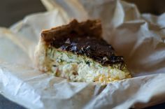 Breakfast quiche at Bluebird Kitchen in Pittsburgh, PA