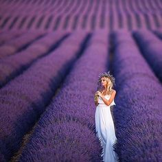 Ohhh, to play amongst the #lavender fields in #France ! Probably one of the most epic places for a pre-bridal shoot with @zhanna_bianca behind the lens!