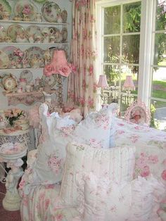 Shabby chic pink overload