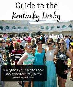 Fun lady with fun ideas for the Derby. --  Guide to the KY Derby! Everything you need to know!