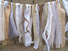 Wedding Garland. Could use for chairs, tables or for backdrops.