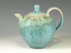 Small teapot 56 Oneofakind small teapot by Hodakapottery on Etsy, $60.00