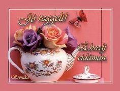 Good Morning, Jar, Flowers, Buen Dia, Bonjour, Royal Icing Flowers, Good Morning Wishes, Flower, Florals