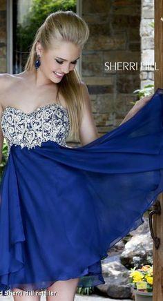 Sherri Hill Dress 3879 | Terry Costa Dallas www.terrycosta.com #prom2014 #promdresses #terrycosta @Sherri Levek Hill