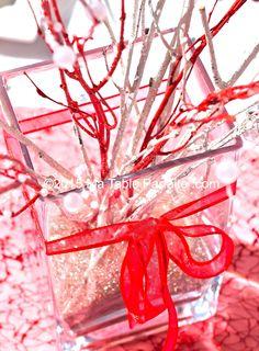 Centre de Table ST Valentin http://www.matableparfaite.com/fr/deco-de-table/