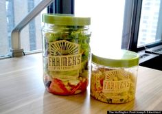 No Candy Bars Here: This Vending Machine Sells Only Fresh Salads And Its Seriously Delicious