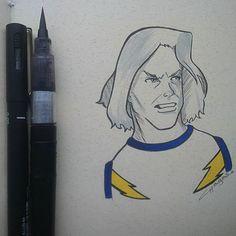 Day 25 By Chagas Ilustrações/Luciana Chagas #inktober2go #inktober #inktober2015
