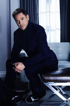 "Robert Downey Jr. - NEWLY RELEASED photo (from fall 2014 ""The Judge"" press tour)"