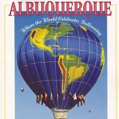 Albuquerque Where the World Celebrates Ballooning - Balloon Fiesta History 25th Anniversary Edition [USED BOOK]