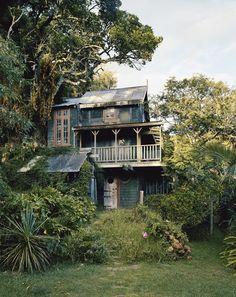 Casa de la selva, Kaitangata Point, Nueva Zelanda
