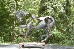 http://www.adrianlandon.com/adrian/life_size_horse_1.html
