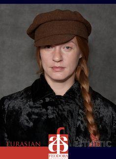 """Kartuz"" - a hat by FEODORA.Moscow FASHION RESURCH | model: Natalia Tetenova | photo: Alexey Melnikov"