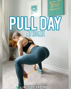 Body Pull Day Workout for Women at Home! Glutes & Hamstrings Body Pull Day Workout for Women at Home! Glutes & Hamstrings Effective resistance band Workouts you can do anywhere! Full body HIIT training workout for women! Band Workouts, Fitness Workouts, Workout Videos, At Home Workouts, Fitness Motivation, Lower Body Workouts, Lower Back Exercises, At Home Workout Plan, Zumba Fitness