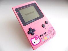 Hello Kitty Nintendo Gameboy Pocket Console