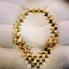 W. Brit Statement Necklace   Spotted on @VANITY FAIR