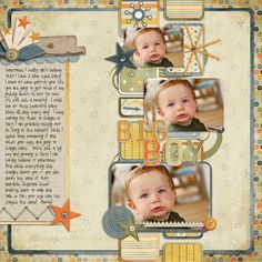 Just a Kid by Fee Jardine  Kraft tab by Robin Carlton  Prismatic stitches by Traci Reed  Template by Lynnette Penacho