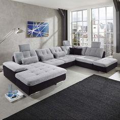 Ber ideen zu wohnlandschaft auf pinterest for Couch u form 3m
