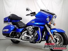 Black & Blue 2009 Kawasaki Vulcan 1700 Voyager - 7,713 miles http://www.cyclecrunch.com/2009--Touring_Vulcan_1700_Voyager-271493-128?utm_source=pinterest_medium=board_campaign=bike271493.#