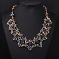 Luxury Layers Necklace Statement Necklace by Attractivenecklace, $25.00