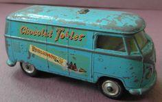 Vintage Corgi Toys 441 Blue Volkswagen vanToblerone Diecast Model 1960s   eBay