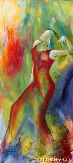 Olie maleri på lærred 100 X 45 cm 4.500 kr www.hbh-art.dk kontakt: hbh@hbh-art.dk www.hbh-art.dk