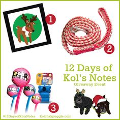 Enter to win a custom pet portrait from the Art of AJ, a handmade macrame leash from Dressed to the K9s and a Launcherz Toy from Dawg Grillz. US/CAN 12/20 #ContestEntry