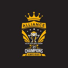 Create school mascot logo for the Alliance College-Ready Middle Academy 21 Champions by Sukach