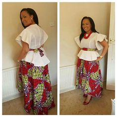 Top Ten Current ankara styles 2017 You Will To Have - Dabonke