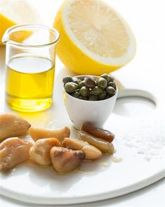 Roasted Garlic and Capers Vinaigrette
