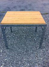 Pair of Vintage Mid Century Modern Chrome End Tables  $275.00...