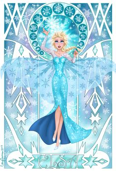 Figured it out!! Elsa is the half blood daughter of khoine and they live in an ancient Alaska so there is no contact from the gods whatsoever!!! That's why she was never claimed and why she has ice powers