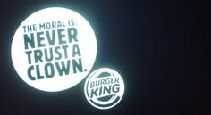 Stephen King film becomes longest BK ad ever.