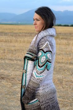 Stunning Cardigan!! _ Inspiration *only as she does NOT sell the pattern - just the finished product._ Svetre/Pulóvre - Caffe Latte  - 2872504
